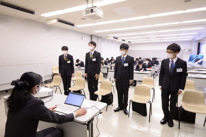 【就職授業】準備万端!入社試験に備え、就職突破講座を開催しました!