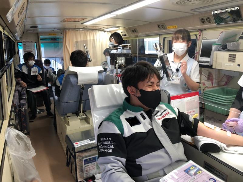 校内献血について