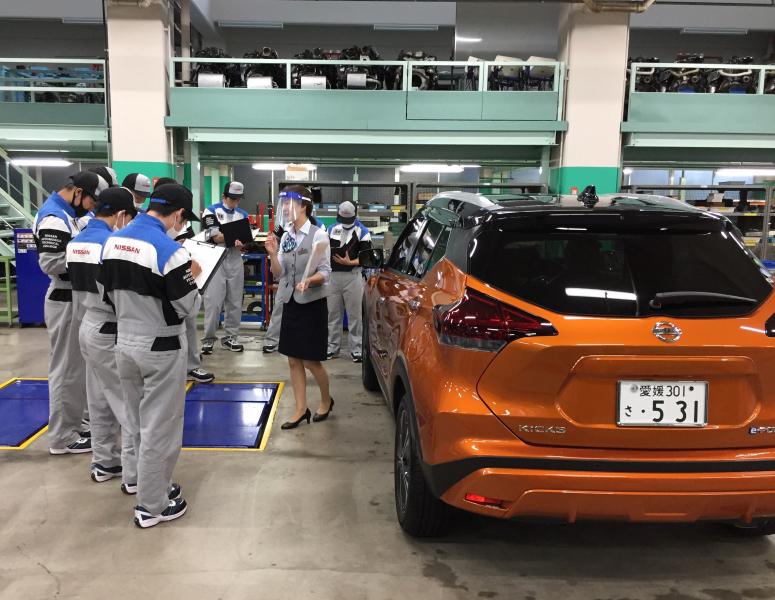 【1年生】日産自動車からの出張授業!
