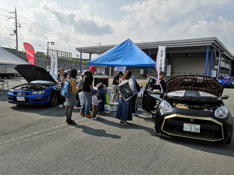 【AUTO FESTA in なら(奈良)】に日産京都校が参加しました!