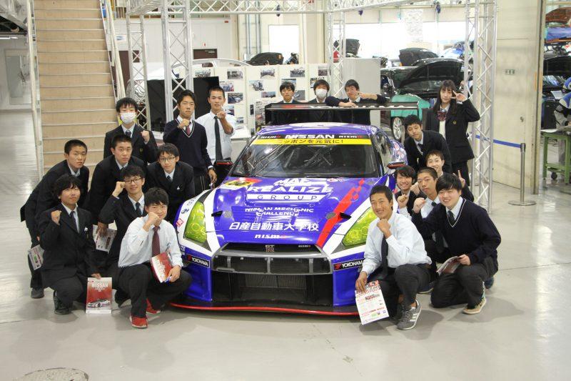堺市立堺高等学校の皆さんが、学校見学に来られました。