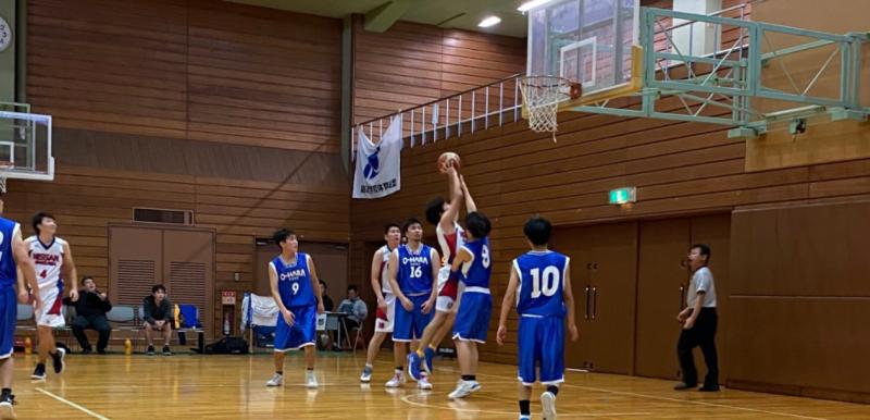 バスケ部 今年度卒業生、最後の試合 勝利!!