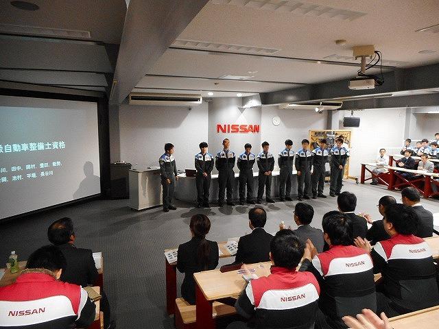 一級自動車工学科4年生  卒業研究発表会開催!