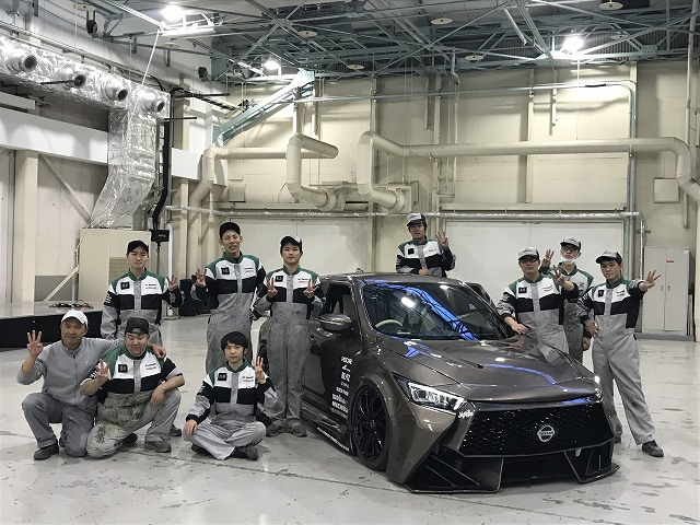 京都校が東京オートサロンに出展します。!!