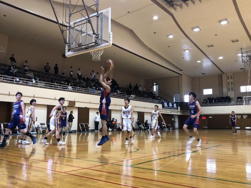 バスケットボール部 秋季リーグ最終戦!