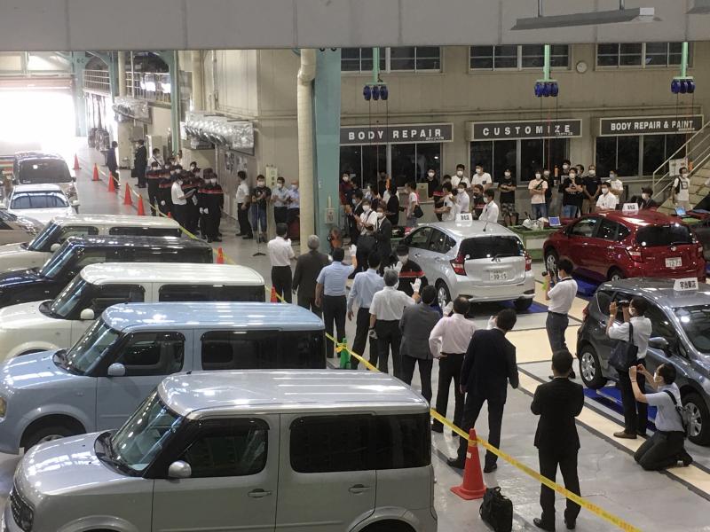 京都日産自動車 新人TS技術大会
