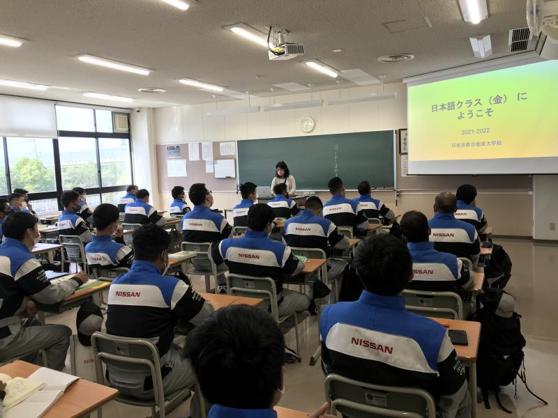 国際自動車整備科【日本語授業】