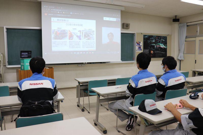 【編入説明会】車体整備コース編入(日産姉妹校)の説明会を開催しました!
