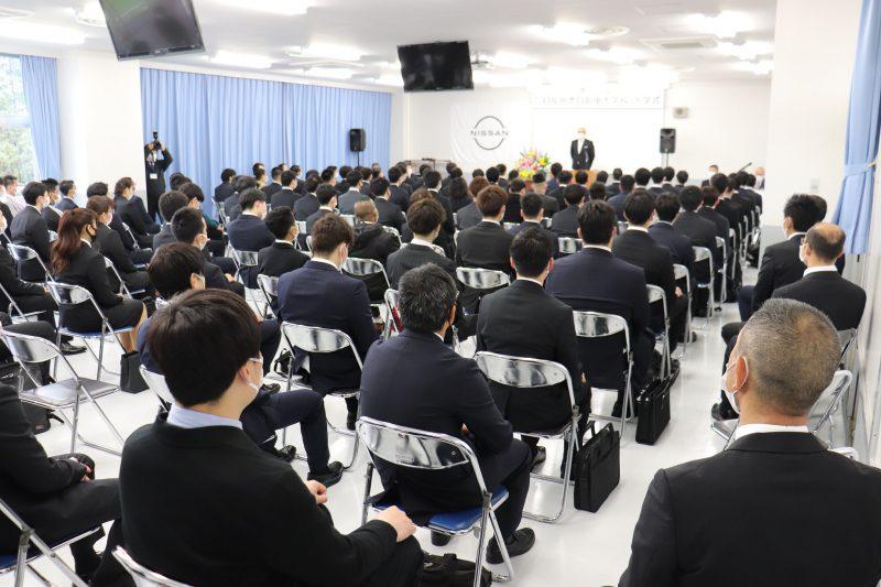 【入学式】『令和3年度 日産栃木自動車大学校 入学式』を挙行しました!