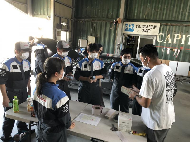 【研究授業】一級自動車工学科の軽板金 シーズン2