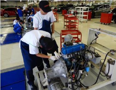 日産横浜自動車大学校が 神奈川県の高等学校との教育連携事業 「仕事のまなび場」に参画