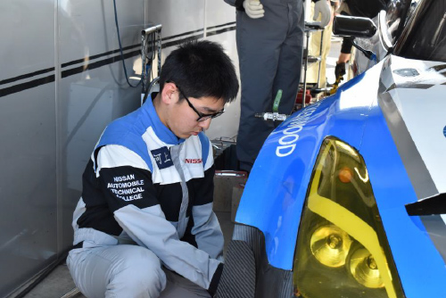 スーパー耐久シリーズ第 2 戦 4/28・29 菅生サーキットに日産・自動車大学校が参戦