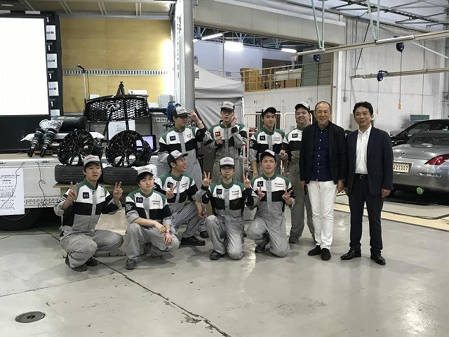 京都校カスタマイズ科 出展車両「コンセプト発表会」