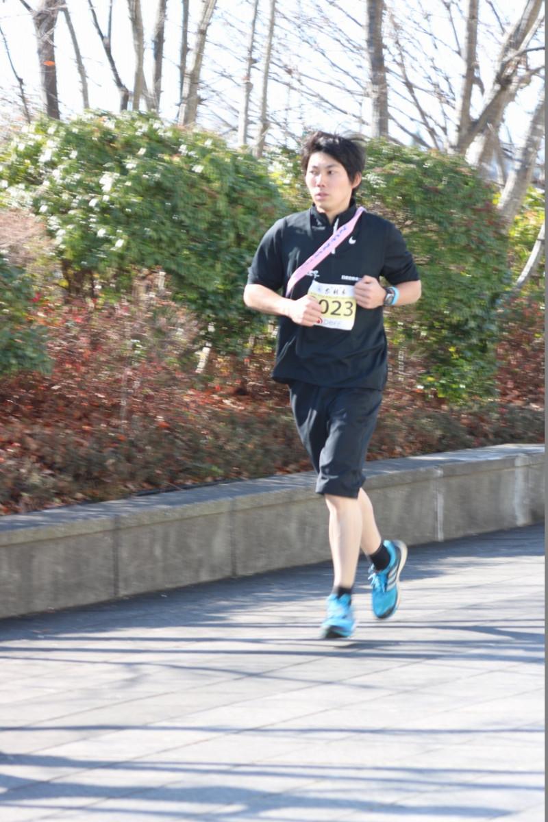 日産校の学生がマラソンイベントに挑戦しました